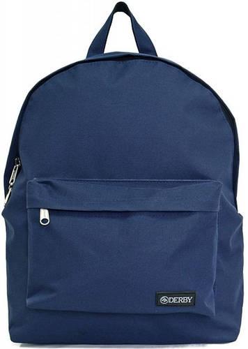 Стильный молодежный рюкзак на 14 л Derby 0100619,02 синий