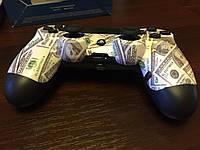 Джойстик/геймпад PS4 Dualshock скин доллар Эксклюзив оригинал беспроводной
