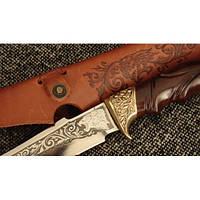 Нож охотничий Лев, ручная работа, оригинальный подарок
