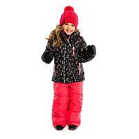 Зимний мембраный термокомплект NANO куртка + полукомбинезон, пинетки + рукавички
