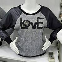 Стильная кофточка Love