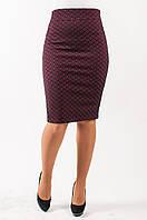 Женская юбка Анабель бордо