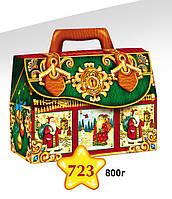 """Новогодняя упаковка 723 """"Саквояж"""""""