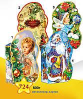 """Новогодняя упаковка 724*1*2*3*4 """"Баул Янгол"""", """"Баул Ретро"""", """"Эльф"""", """"Дед Мороз"""""""