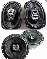 Набор акустики Megavox 2 овала + 2 круглые 16 см 180 Вт RMS Мега-Звук