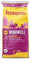 Josera Miniwell (15 кг) гипоаллергенный корм для взрослых собак миниатюрных пород (Джосера, Йозера)