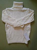 """Вязаный свитер на девочку и мальчика  """"Косичка"""""""