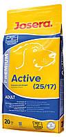 Josera Premium Active (20 кг) корм для взрослых собак с высокой активностью (Джосера, Йозера)