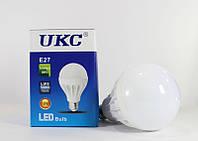 Энергосберегающая лампочка круглая LED LAMP E27 18W UKC, светодиодная лампочка