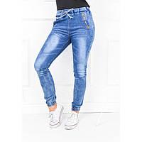 Женские джинсы молодежные свободного кроя на шнуровке Хит Сезона. Незаменимы на зиму. Бесплатная Доставка