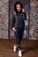 Зимний спортивный костюм женский дутый S M L