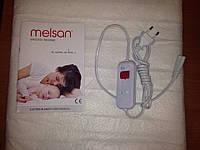 Электропростынь односпальная Melsan Comfort MP10101 85х150 cм; 60W; Турция
