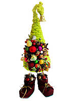 Мягкая елка в ботинках зеленая