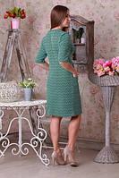 Оригинальное платье бирюзового цвета, фото 1