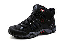 Adidas Terrex, зимние кроссовки, мужские, на меху, черные, р. 41 42 43 45 46, фото 1