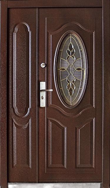 металлические двойные двери купить