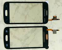 Samsung Galaxy s7262 Star Plus тачскрін сенсор чорний якісний