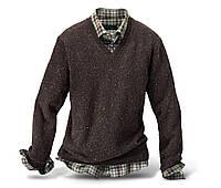 Тёплый мужской свитер от Tchibo размер XL