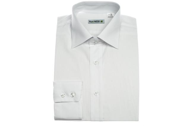 Приталенные рубашки с длинным рукавом