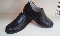 Туфли мужские натуральная кожа Браска кидз, размеры 31,33,35-39