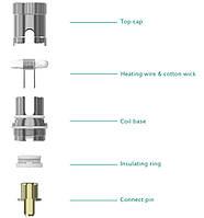 Eleaf ECR (iJust S/iJust 2/Melo/Melo 2/Melo 3/Lemo 3) - Обслуживаемый испаритель для электронной сигареты.