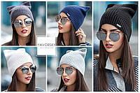 Модная вязаная шапка 169, фото 1