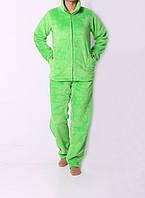 Махровый женский костюм для дома с кармашками 4552