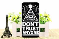 Чехол Meizu M2 Note Бампер силиконовый don't trust