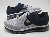 Кроссовки мужские Nike Air max 2017 Blue-grey Оригинал. кроссовки, кроссовки муж