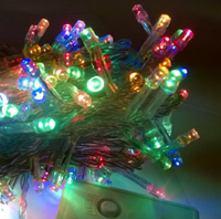 """Гирлянда LED  """"нить"""", цветная, 160 диодов"""