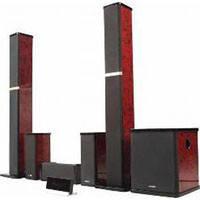 Акустическая система Microlab H-600 LCD красный дерево, 5.1  (MDF), 360 Вт- 5 х 50 Вт + 110 Вт RMS, рояльний лак + пульт ДК + LCD