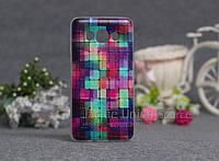Чехол для Samsung Galaxy J510/J5 - 2016 с картинкой цветные кубики
