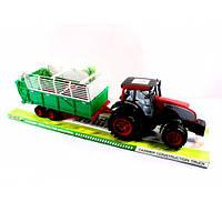 Детская игрушка Трактор 0488-154 инерционный