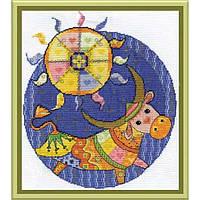 Набор для вышивки крестом Panna ВК-0823 Велес