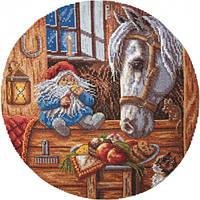 Набор для вышивки крестом Panna СО-1128 Домовой-покровитель дом. животных