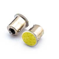 Светодиодная лампа для авто LED белая одноконтактная P21 BAY15D, T25, 1157, 1016