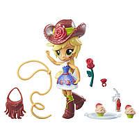 Куклы и пупсы «My Little Pony Equestria Girls» (B4909) мини-кукла с аксесуарами Эпплджек (Applejack), 11 см