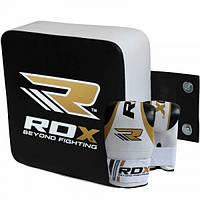 Настенная подушка для бокса квадратная RDX Small Gold 30112