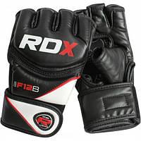 Перчатки ММА RDX Rex Leather Black 10303
