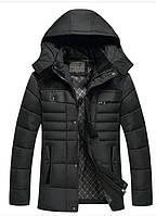 Черная куртка зимняя РМ6568