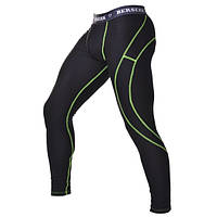 Штаны компрессионные с ракушкой Berserk Sport Legacy green neon black CP9812GB