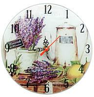 Часы для дома настенные Кофе и лаванда