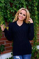 Женский теплый свитер S M L