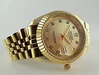Часы успешных от  ROLEX -   gold   (копия)