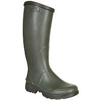 Зимние резиновые сапоги мужские, чоботи гумові Solognac Sibir 300 зеленые