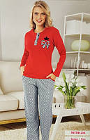 Женская пижама №9298 интерлок
