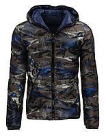 Мужская зимняя стёганая двусторонняя куртка