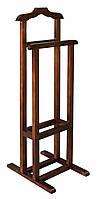 Вешалка для одежды деревянная напольная