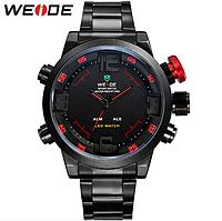 Спортивные мужские часы Weide Sport Watch RED Edition