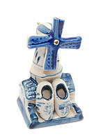Статуэтка сувенир из керамики Мельница